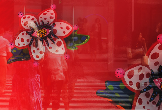 Kusama shop window.
