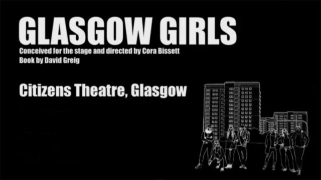 Glasgow Girls at the Citizens Theatre Glasgow.