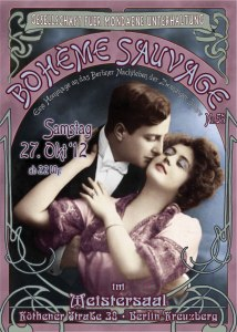 Boheme Sauvage 1920s party Berlin