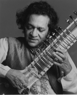Ravi Shankar and sitar