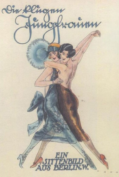 Caberet photo - two women dancing.