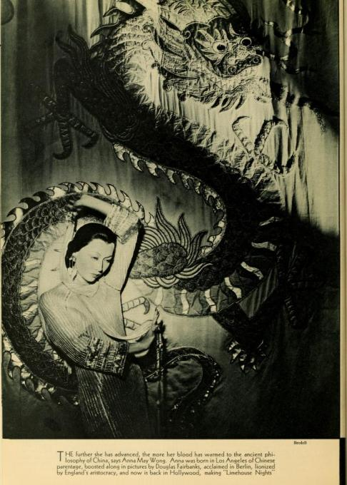 Anna May Wong PhotoPlay article about her making Limehouse Nights.