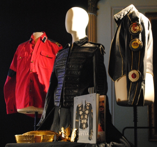 Michael Jackson costumes at Michael Bush talk