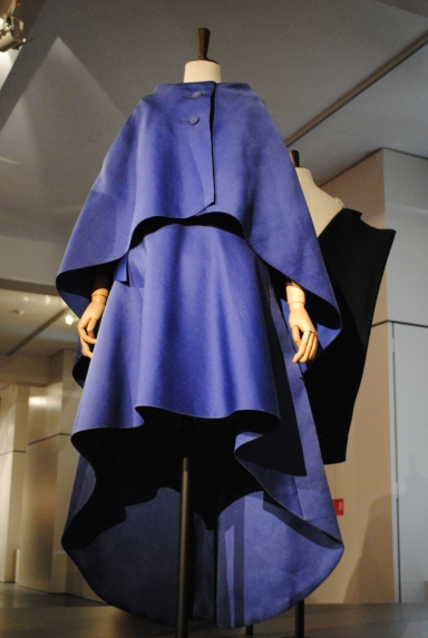 Balanciaga blue dress Fashion Museum Antwerp
