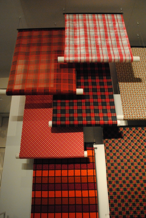Checked fabric fashion museum Antwerp