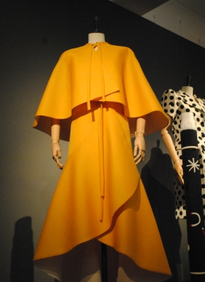 Givenchy evening dress in yellow gazar