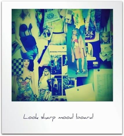 Mood board Fix Up Look Sharp popup