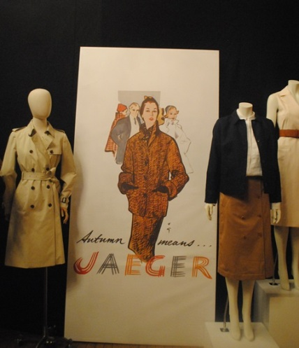 Jaeger display mixing vintage and new