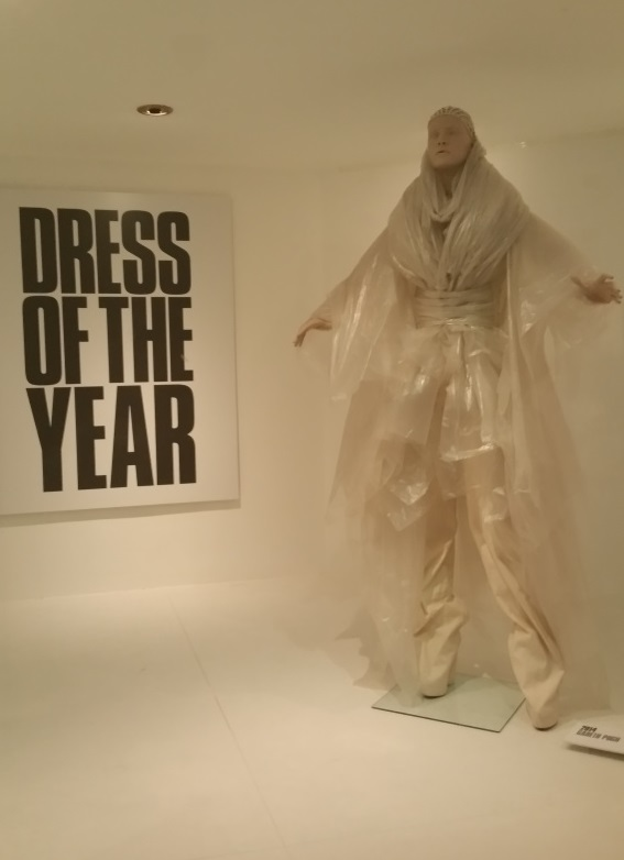 Gareth Pugh's Dress of the Year in the Fashion Museum